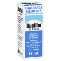 Duofilm Solution 15mL | For the Treatment of Warts