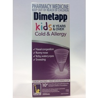 Dimetapp Elixir Sugar Free 6 Years+ 200mL
