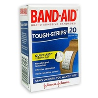 Johnson's Band-Aid Tough Strips 20