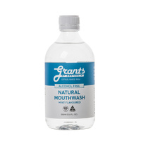 Grants Natural Mouthwash (Alcohol Free) Mint Flavoured 500ml
