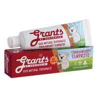 Grants Natural Toothpaste Kids Strawberry Surprise 75g