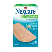 Nexcare Soft n Flex Soft Feel Bandages 10