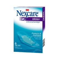 Nexcare Blister Waterproof Bandages 6