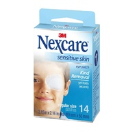 Nexcare Sensitive Skin Eye Patch Regular 14
