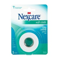Nexcare Soft Cloth Tape 25.4mm x 5.48m