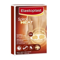 Elastoplast Spiral Heat Patch Back Neck 3 Patches