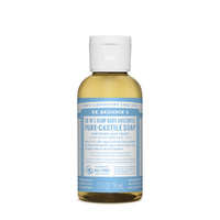 Dr. Bronner's Pure-Castile Soap Liquid (Hemp 18-in-1) Baby Unscented 59ml