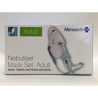 Allersearch Nebuliser Mask Kit Adult