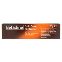 Betadine Cold Sore Ointment 7.5g