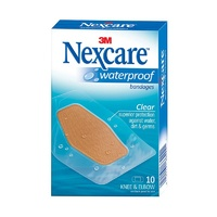 Nexcare 3M Waterproof Bandages 10