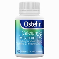 Ostelin Calcium & Vitamin D3 60 Tablets