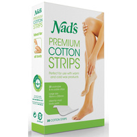 Nad's Premium Washable and Reusable Cotton Strips 20