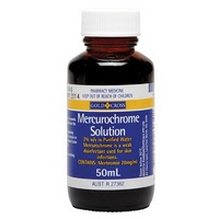 Gold Cross Mercurochrome Solution 50mL