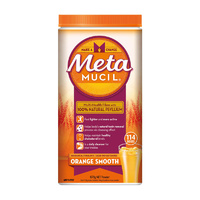 Metamucil Smooth Orange 673g 114 Doses | Fibre Laxative Constipation