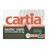 Cartia 100mg 28 Tablets