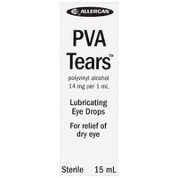 PVA Tears Eye Drops 15mL