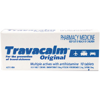 Travacalm 10 Tablets | Original 10 Tablets