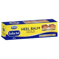 Scholl Eulactol Heel Balm 200g | For Rough, Dry and Cracked Skin
