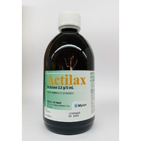 Actilax Lactulose Solution 500mL
