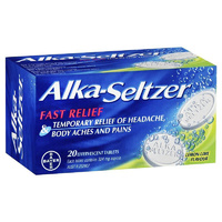Alka-Seltzer Lemon-Lime 20 Tablets