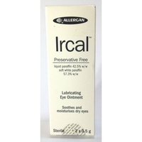 Ircal Lubricating Eye Ointment 2 x 3.5 g