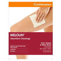 Melolin Absorbent Dressings 3 ( 10 x 10cm )