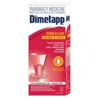 Dimetapp DM Elixir 6 Years+ 100mL