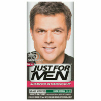 Just For Men Shampoo-In Hair Colour Natural Dark Brown-Black
