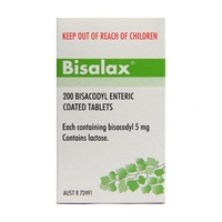 Bisalax 5mg 200 Tablets