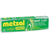 Metsal Heat Rub Cream 50g