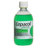 Cepacol Antibacterial Mint Mouthwash 500mL