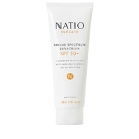 Natio Suncare Broad Spectrum Sunscreen SPF 50+ 100mL