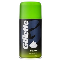 Gillette Shaving Foam Lemon Lime 250g