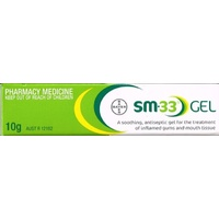 SM-33 Antiseptic Gel Treatment 10g