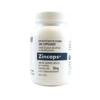 Zincaps 50mg Sulphate Capsules 100