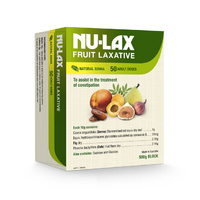 Nu-Lax 500G Natural Fruit Laxative (Nulax Senna & Fig)