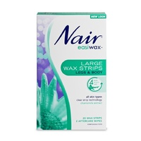 Nair Easiwax Large Wax Strips | 20 Large Strips