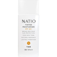 Natio Tinted Moisturiser SPF 50+ Tan