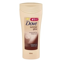 Dove Summer Glow Body Lotion Normal to Dark Skin 250mL