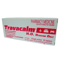 Travacalm HO Tablets 10