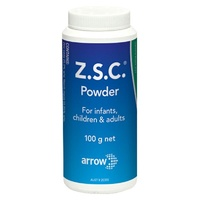 Z.S.C. Dusting Powder for Infants Children & Adults 100g