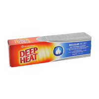 Deep Heat Regular Relief 140g | Mentholatum