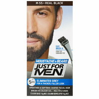Just For Men Brush-In Colour Gel Natural Real Black