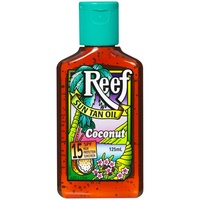 Reef Sun Tan Oil SPF 15 Coconut 125mL
