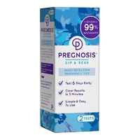 Pregnosis Dip & Read Early Pregnancy Test 2