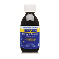 Gold Cross Senega & Ammonia 200mL For Chesty Cough