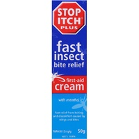 Stop Itch Plus First Aid Cream 50g with Menthol
