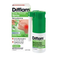 Difflam Anti-inflammatory Throat Spray 30mL Sugar Free