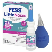 FESS Little Noses Spray 15mL + Aspirator
