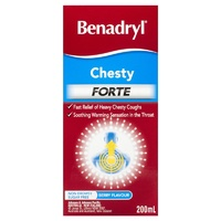 Benadryl Chesty Forte 200mL Berry Flavour